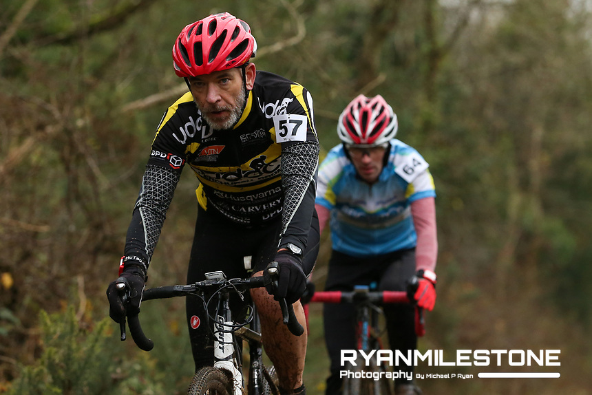 EVENT:<br /> Round 5 of the 2019 Munster CX League<br /> Drombane Cross<br /> Sunday 1st December 2019,<br /> Drombane, Co Tipperary<br /> <br /> CAPTION:<br /> David Donovan of Upperchurch Drombane Cycling Club in action during the B Race<br /> <br /> Photo By: Michael P Ryan