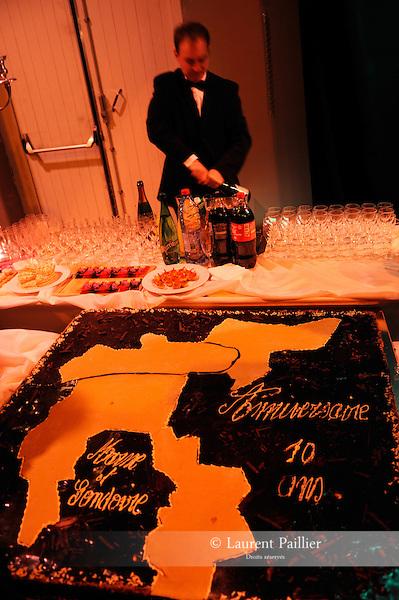 10 ans de Marne et Gondoire..Lieu : Parc Culturel de Rentilly..Ville : Bussy-Saint-Martin..le 05/01/2012