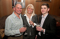 Mike and Wendy Dawson of Woo Properties with Dan Straw (right) of Nicholas Humphreys Nottingham