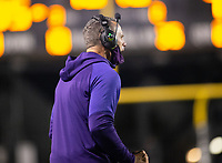 Casey Dick head football coach of Fayetteville against Bentonville at Tigers Stadium, Bentonville, Arkansas on Friday, October 16, 2020 / Special to NWA Democrat-Gazette/ David Beach