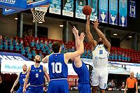 27-03-2021: Basketbal: Donar Groningen v Den Helder Suns: Groningen score Donar speler Juwann James