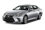 2016 Lexus GS 350 4 Door Sedan Angular Front stock photos of front three quarter view