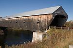 Longest wooded covered bridge in U.S. The Cornish-Windsor Bridge, NH/VT