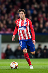 Nicolas Gaitan of Atletico de Madrid in action during the UEFA Europa League 2017-18 Round of 32 (2nd leg) match between Atletico de Madrid and FC Copenhague at Wanda Metropolitano  on February 22 2018 in Madrid, Spain. Photo by Diego Souto / Power Sport Images