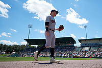 Scranton/Wilkes-Barre RailRiders Clint Frazier (77) during an International League game against the Rochester Red Wings on June 25, 2019 at Frontier Field in Rochester, New York.  Rochester defeated Scranton 10-9.  (Mike Janes/Four Seam Images)