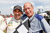#7 Acura Team Penske Acura DPi, P: Helio Castroneves, TE McHale, podium,