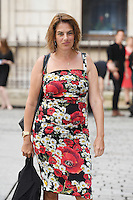 Tracey Emin arrives for the VIP preview of the Royal Academy of Arts Summer Exhibition 2016