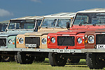 Land Rover 90/110 Defender prototypes. Dunsfold Collection Open Day 2009. NO RELEASES AVAILABLE.