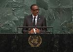72 General Debate – 20 September <br /> <br /> <br /> by His Excellency Paul Kagame, President of the Republic of Rwanda