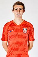 SAN PEDRO DEL PINATAR, SPAIN - MARCH 2019: U.S. Soccer USMNT U-23 Portraits & Lifestyles.