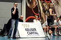 13-03-2021: Basketbal: Keijser Capital Martini Sparks v Grasshoppers: Haren Martini Sparks coach  Klaas Stoppels