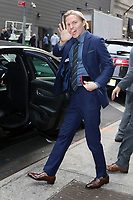 NEW YORK, NY - October 11: Ronan Farrow seen after an appearance at Good Morning America promoting his new book Catch and Kill and the Matt Lauer rape allegations on October 11, 2019 in New York City. Credit: RW/MediaPunch
