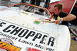 Jul 4, 2009; 5:56:57 PM; Bulls Gap, TN., USA; The Lucas Oil Late Model Dirt Series running a 10,000 to win race at Volunteer Speedway.  Mandatory Credit: (thesportswire.net)