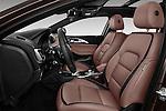 Front seat view of 2017 Infiniti QX0 Premium-Tech-4wd 5 Door Suv Front Seat  car photos