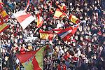 Atletico de Madrid's supporters during La Liga match. February 26,2017. (ALTERPHOTOS/Acero)