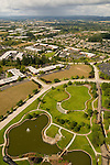 Aerial of Amberglen Business Parks, Beaverton, Oregon