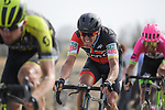 Greg Van Avermaet (BEL) BMC Racing Team on the pave during the 116th edition of Paris-Roubaix 2018. 8th April 2018.<br /> Picture: ASO/Pauline Ballet | Cyclefile<br /> <br /> <br /> All photos usage must carry mandatory copyright credit (© Cyclefile | ASO/Pauline Ballet)