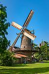 Deutschland, Nordrhein-Westfalen, Xanten: Stadtmuehle am Nordwall - die Kriemhildmuehle, eine historische Windmuehle in Xanten und die einzige Muehle des Niederrheins | Germany, Northrhine-Westphalia, Xanten: the historic 'Kriemhild' windmill