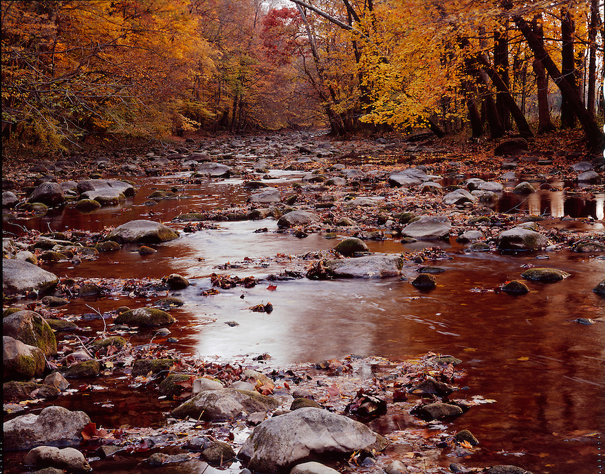 """An Autumn on Rock Creek""<br />
