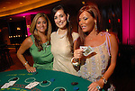 Katherine Orellana, Lauren Elizabeth Summerville and Amanda Mills at the Casino Night for The Health Museum at the Hotel ZaZa Saturday  Aug. 23,2008.(Dave Rossman/For the Chronicle)