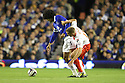 Simon Heslop of Stevenage tangles with Marouane Fellaini of Everton<br />  - Everton v Stevenage - Capital One Cup Second Round - Goodison Park, Liverpool - 28th August, 2013<br />  © Kevin Coleman 2013