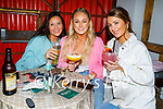 Enjoying the evening in Sean Og's on Friday, l to r: Bernice O'Shea, Becky O'Halloran and Chelsea Quirke.