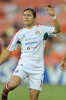Desiree Monsivais (15) of Mexico during pre-game warmups. The USWNT defeated Mexico 7-0 during an international friendly, at RFK Stadium, Tuesday September 3 , 2013.