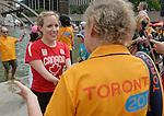 Elisabeth Walker-Young, Toronto 2015.<br /> Chef de Mission Elisabeth Walker-Young at the volunteer recognition at Nathan Phillips Square // La chef de mission Elisabeth Walker-Young lors de la reconnaissance des bénévoles au Nathan Phillips Square. 04/08/2015.