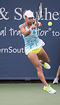 August 16,2017:   Yulia Putintseva (KAZ) loses to Svetlana Kuznetsova (RUS) 6-3, 6-4, at the Western & Southern Open being played at Lindner Family Tennis Center in Mason, Ohio.  ©Leslie Billman/Tennisclix