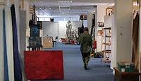 WORDS BY KARL WEST<br /> Pictured: Interior view of the Elysium Gallery Friday 30 September 2016<br /> Re: The regeneration of the High Street in Swansea, Wales, UK