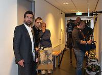 17-12-11, Netherlands, Rotterdam, Topsportcentrum, Toernooi directeur Raemon Sluiter in spanning vlak voor de finale