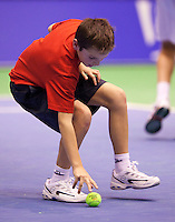 15-12-10, Tennis, Rotterdam, Reaal Tennis Masters 2010, Ballenjongen