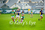 Garreth Ó Nuanáin of Lispole gathers a ball during their encounter with Knocknagoshel in the County Football league division 4 relegation game.