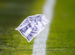 Pictures of the Neil Simpson / Ian Durrant tackle folded into paper planes blowing across the playing surface at Aberdeen