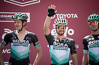 Peter Sagan (SVK/Bora-Hansgrohe) at sign-on<br /> <br /> 14th Strade Bianche 2020<br /> Siena > Siena: 184km (ITALY)<br /> <br /> delayed 2020 (summer!) edition because of the Covid19 pandemic > 1st post-Covid19 World Tour race after all races worldwide were cancelled in march 2020 by the UCI