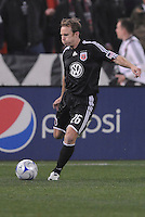 DC United defender Bryan Namoff (26)  Chicago Fire tied DC United 1-1at  RFK Stadium, Saturday March 28, 2009.