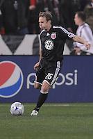 DC United defender Bryan Namoff (26)  Chicago Fire tied DC United 1-1at  RFK Stadium, Saturday March 28, 2009.