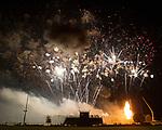 July 1, 2017- Arthur, IL- The Grand Finale during the 2017 Arthur Fireworks celebration. [Photo: Douglas Cottle]