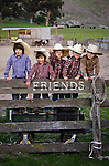 'Cowboy Cousins' at the Garcia Ranch in San Luis Obispo, California  (Also known as the 'Awesome Possums', a cousins outdoor club that my sister Janet formed for the boys. Every Wednesday the gang get together for some outdoor activities) (Bode and Cash Breeze, Peyton Quaglino, Evan Baird, and Ethan Lazanoff)