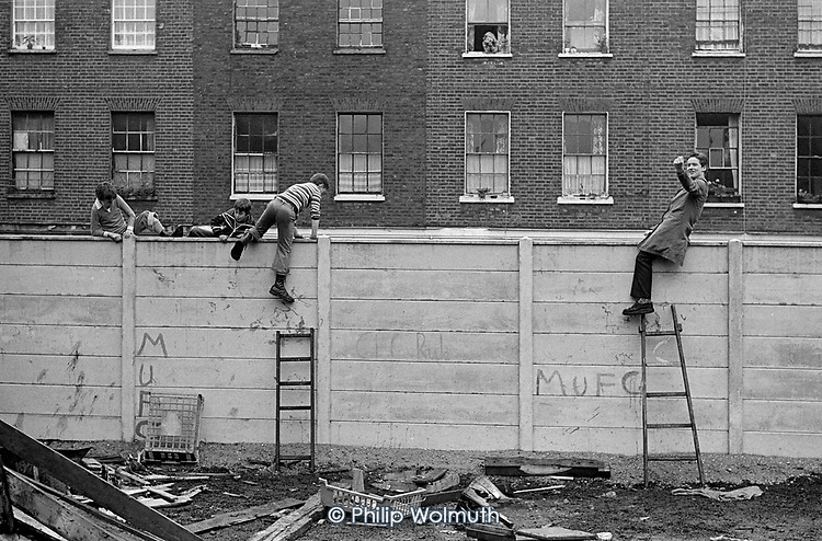 Star Street Adventure Playground, Paddington, London, 1977.