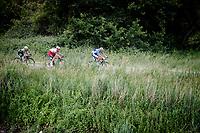 Damien Gaudin (FRA/Total - Direct Energie)<br /> <br /> Dwars door het Hageland 2019 (1.1)<br /> 1 day race from Aarschot to Diest (BEL/204km)<br /> <br /> ©kramon
