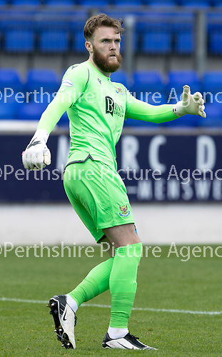 St Johnstone FC…..<br />Zander Clark<br />Picture by Graeme Hart.<br />Copyright Perthshire Picture Agency<br />Tel: 01738 623350  Mobile: 07990 594431