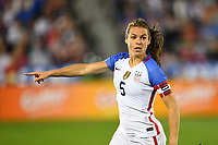 Commerce City, CO - Friday September 15, 2017: Kelley O'Hara during an International friendly match between the women's National teams of the United States (USA) and New Zealand (NZL) at Dick's Sporting Goods Park.