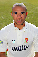 Tymal Mills of Essex CCC in LV County Championship Kit - Essex County Cricket Club Press Day at the Essex County Ground, Chelmsford, Essex - 02/04/13 - MANDATORY CREDIT: Gavin Ellis/TGSPHOTO - Self billing applies where appropriate - 0845 094 6026 - contact@tgsphoto.co.uk - NO UNPAID USE.