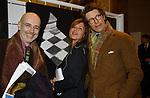 """BEPPE SCARAFFIA CON FLAMINIA ORSINI E ANGELO BUCARELLI<br /> VERNISSAGE """"ROMA 2006 10 ARTISTI DELLA GALLERIA FOTOGRAFIA ITALIANA"""" AUDITORIUM DELLA CONCILIAZIONE ROMA 2006"""