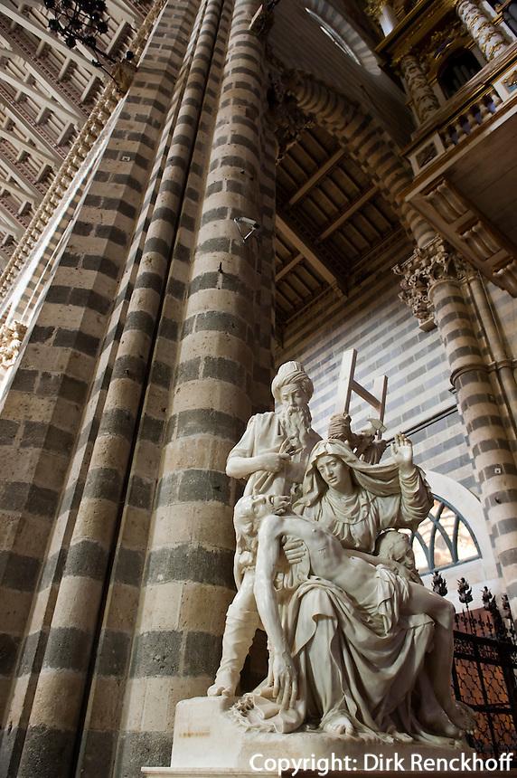 Italien, Umbrien, im Dom von Orvieto