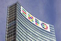 - Milano, il simbolo dell'Expo 2015 sul palazzo della Regione Lombardia<br /> <br /> - Milano, the logo of Expo 2015 on the building of the Lombardy Region