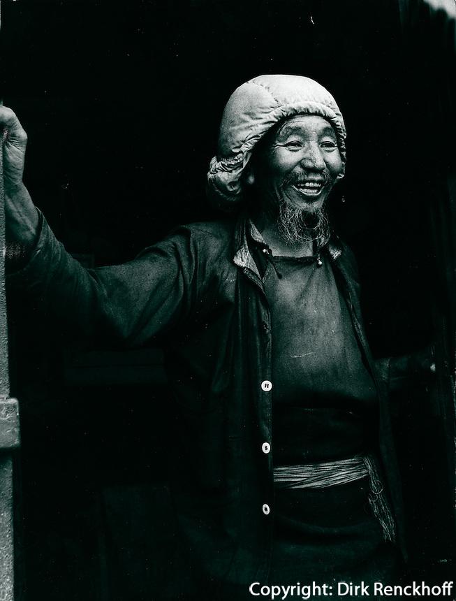 Lama in Darjeeling, Indien 1974