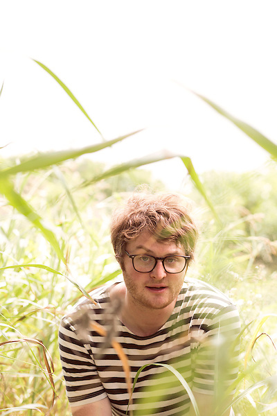 July 24, 2014. Carrboro, North Carolina.<br />  Michael Benjamin Lerner of Telekinesis. <br />  Day two of the MERGE 25 festival, celebrating the 25 year history of the independent record label.