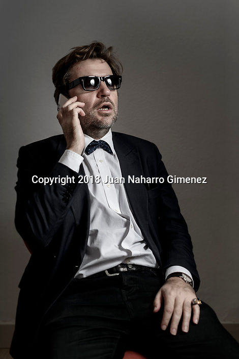 Director Albert Serra poses during a portrait session.